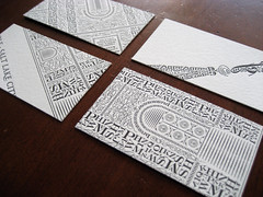 Letterpress (dis)cards (Cameron Moll) Tags: businesscards letterpress