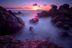Maui Dreams (kevin mcneal) Tags: ocean longexposure sunset hot weather landscape hawaii maui beaches tropical southmaui waileapoint vosplusbellesphotos
