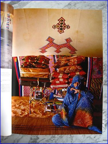 Arab nomad tent in Mauretania