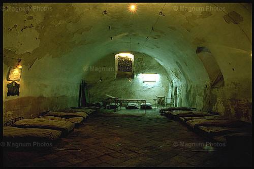 Alcázar de Toledo en 1985. Foto de Ferdinando Scianna. Magnum Photo