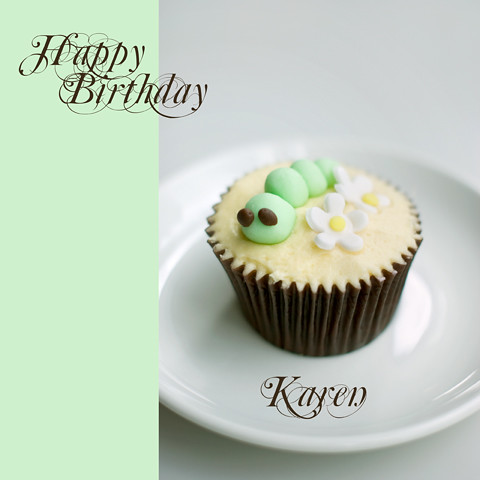 happy birthday karen cake
