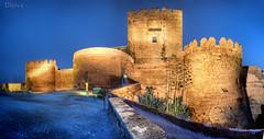 Amanecer en La Alcazaba. Almería. Spain. by dleiva