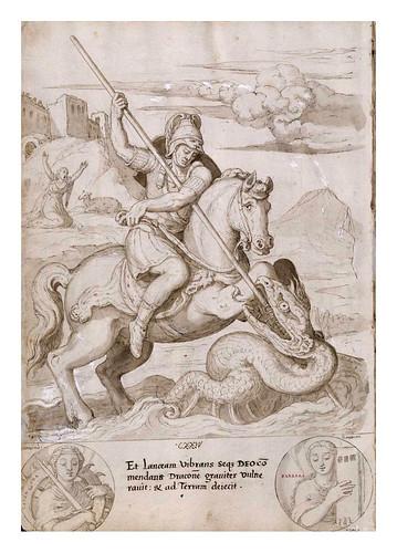 017- San Jorge matando al dragon-De Aetatibus Mundi Imagines