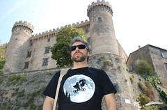 At the Castle (brilliantdandy) Tags: italy lake holiday castle history lago stones alien towers medieval historical cris et castello medievale 2009 brilliant vacanza dandy lazio torri bracciano storia brilliantdandy