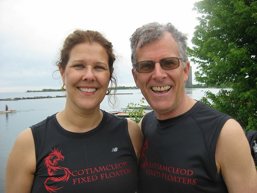 Scotia McLeod Rosedale Branch Dragon Boat Race Training 4