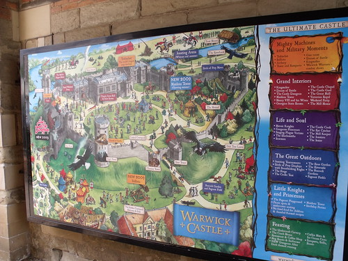 Warwick Castle - Fun map - The Ultimate Castle