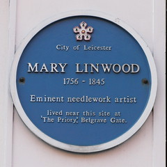 Photo of Mary Linwood blue plaque