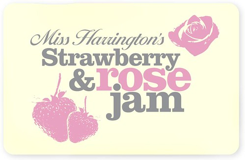 Strawberry & rose jam