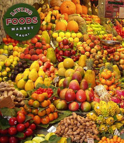 Living Foods Market Kauai