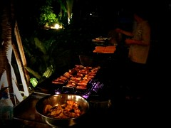 Barbecue dinner, Rawa Safaris Island Resort