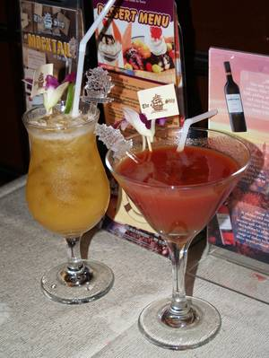Secretary's Mocktail & Virgin Mary