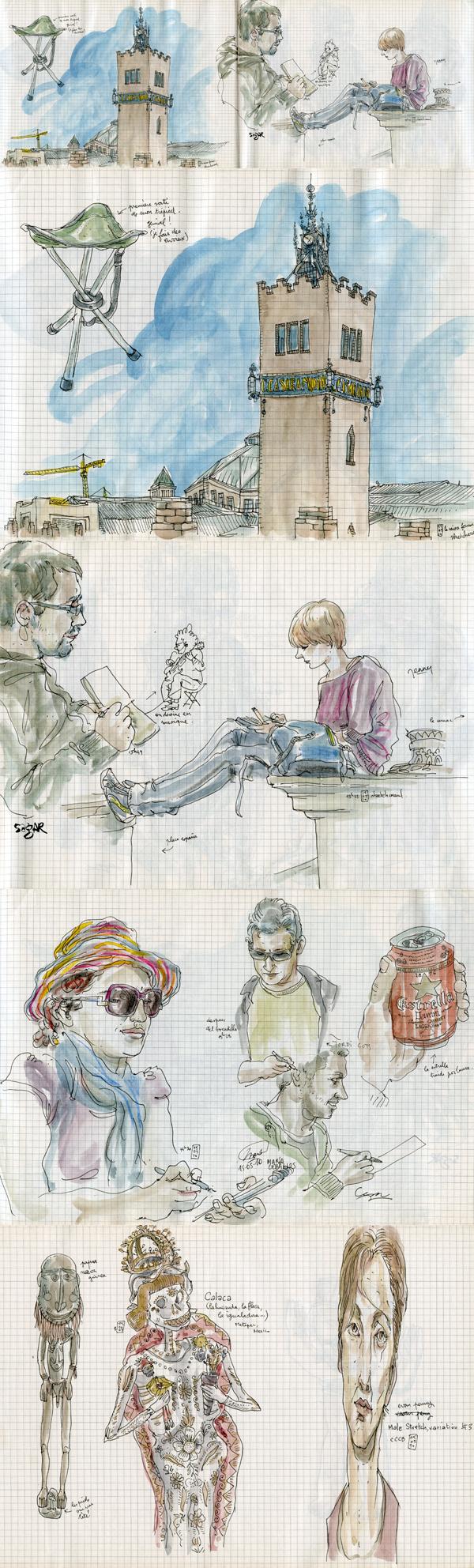 sketchcrawl #27 in barcelona