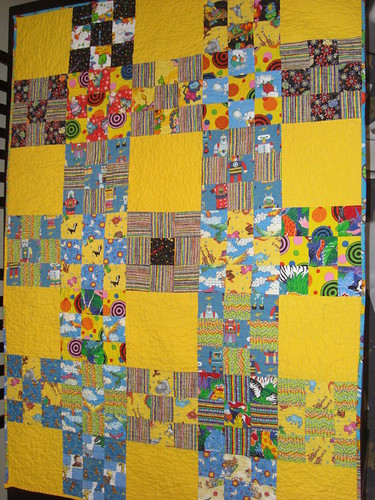 Scrappy Kids Charity Quilt 4