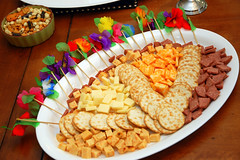 Cheese 'n' Crackers 'n' Sausage