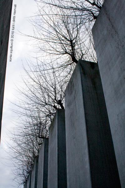 Il giardino dell'esilio del Museo Ebraico, Berlino