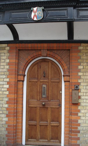 Catholic Rectory Door
