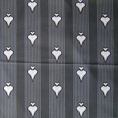 Spoonflower Swatch - 8-bit Love - Grey