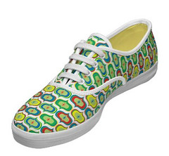 go go lace up keds (birdarts) Tags: blue red urban white abstract green cool shoes circles patterns sneakers polkadots present coolshoes tennisshoes zazzle geometricpattern retropattern canvasshoes kedshoes andibird gogocoolkeds popularkeds