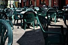 Patio Chairs (brianwolk) Tags: toronto black bar outdoors pub chairs empty bull patio blackbull