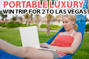 Win a Las vegasvacation in a contest sponsored by a portable toilet rentals company in Toronto Ontario