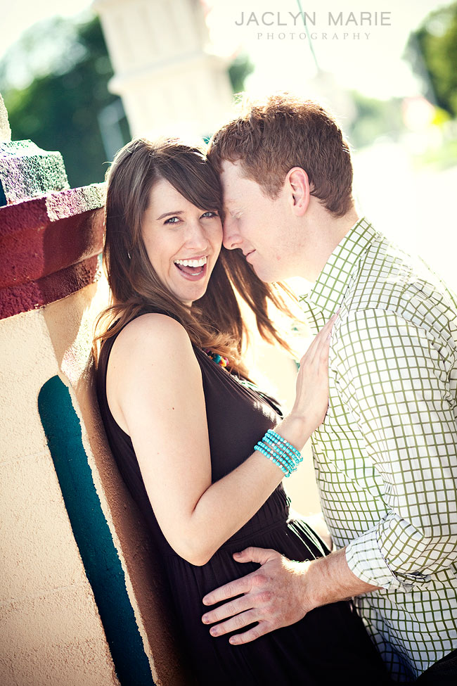 Lawrence, Kansas wedding photography engagement photo.