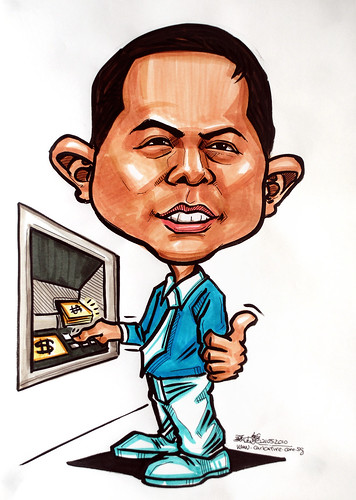 Caricatures for NUS -ATM