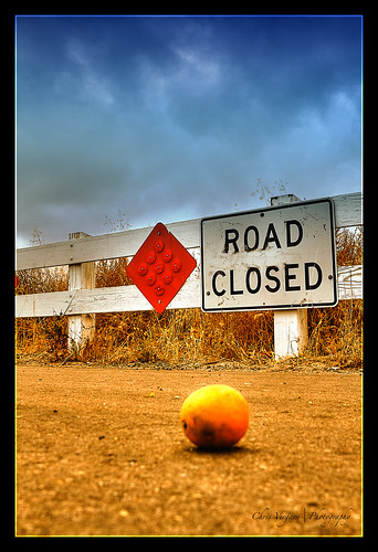Orange Road Closed