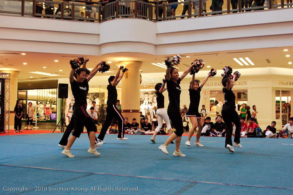 CHARM Cheerleading Championships 2010 (Training) @ 1 Utama, KL, Malaysia
