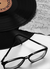 crying, waiting, hoping (M.elissa) Tags: music records waiting crying buddy holly record 50s oldies buddyholly hoping