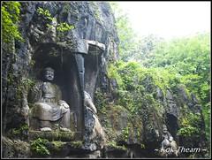 Hangzhou 15 (koktheam) Tags: china sculpture rock buddha chinese hangzhou jiangnan curving feilaifeng