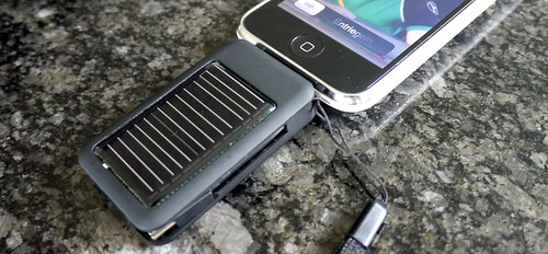 Mini-Solarzelle für iPhone