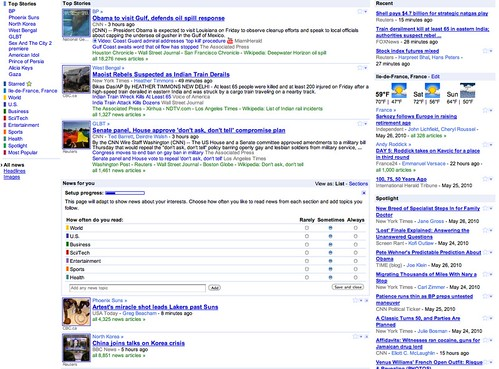 Google News UI Update