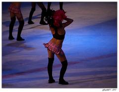 Save the Cheerleader, save the world (Greyshift11) Tags: france hockey girl lumix europe danse panasonic rouen g1 mm briançon coupe 45mm dmc glace pompom 1445 200mm 14mm dmcg1