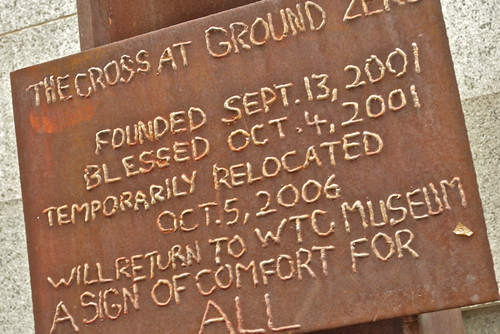 Cross at Ground Zero