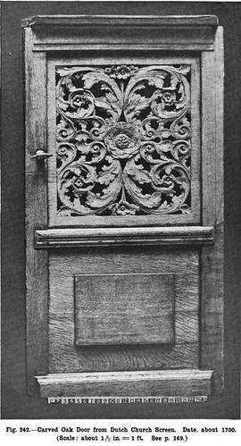 Acanthus Motif Door