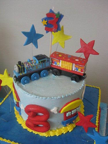 happy birthday thomas cake topper