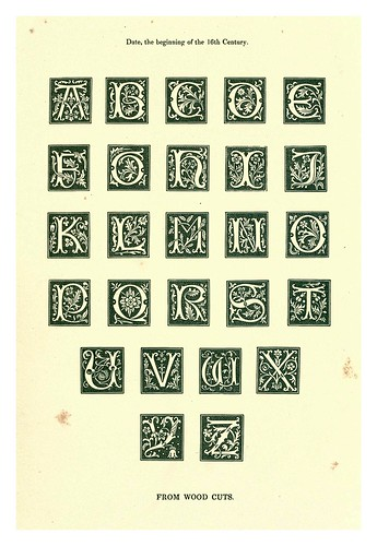 011-Siglo XVI-The hand book of mediaeval alphabets and devices (1856)- Henry Shaw