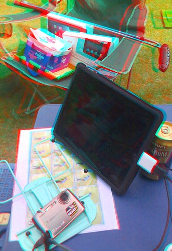 3D Camera Photo iPad anaglyph-2