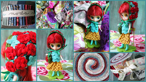 Petite Blythe and Stash Fabrics