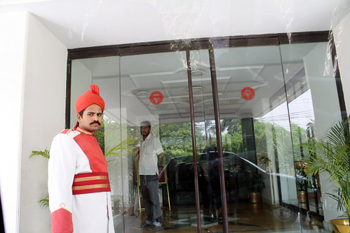 Vaibhavホテルのドアマン
