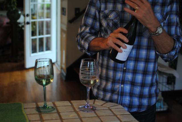 dad & wine