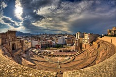 Teatro Romano de Cartagena (Jose Casielles) Tags: color luz teatro ciudad romano cartagena belleza yecla teatroromano fotografíasjcasielles