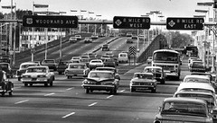 Woodward Avenue and 8 Mile Road 1965 (pmadsidney) Tags: county oakland michigan sears detroit warren expressway hightway woodwardavenue waynecounty macombcounty 8mileroad