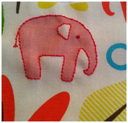 Elephant test swatch