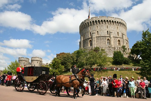 Coaches heading down to collect Royal persons