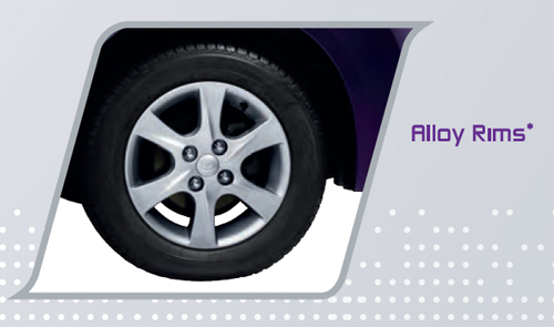 Perodua MyVi 2011 : Alloy Rims