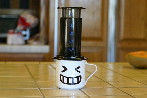 I love my new aeropress