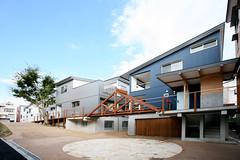中納言町コーポラティブ住宅竣工写真