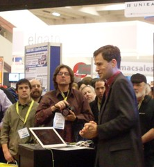 David Pogue at Macworld