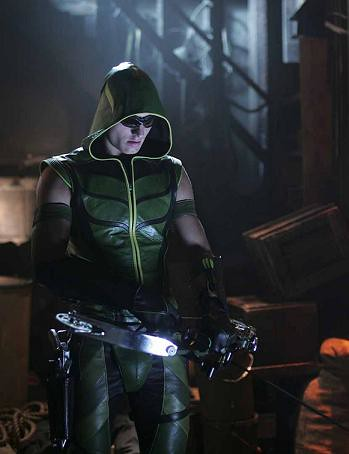 Justin Hartley as Oliver Queen, the